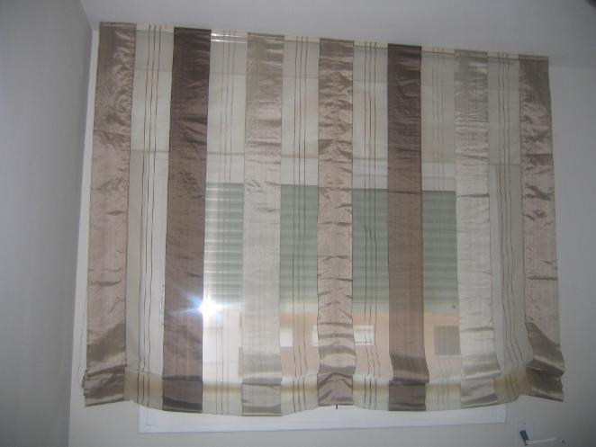 Estores decoracion castillo cortinas estores tapicer as - Confeccion de estores ...